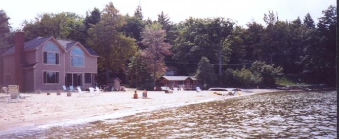 Newfound Lake Sandy Beach